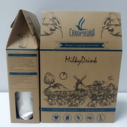 Замінник молока «Milky Drink». 150 м Безбілковий. Безглютеновий.