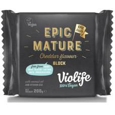 Сыр VioLife «Зрелый Чеддер» (блок) 200 г